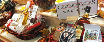 personalized gift basket from Cheese Traders